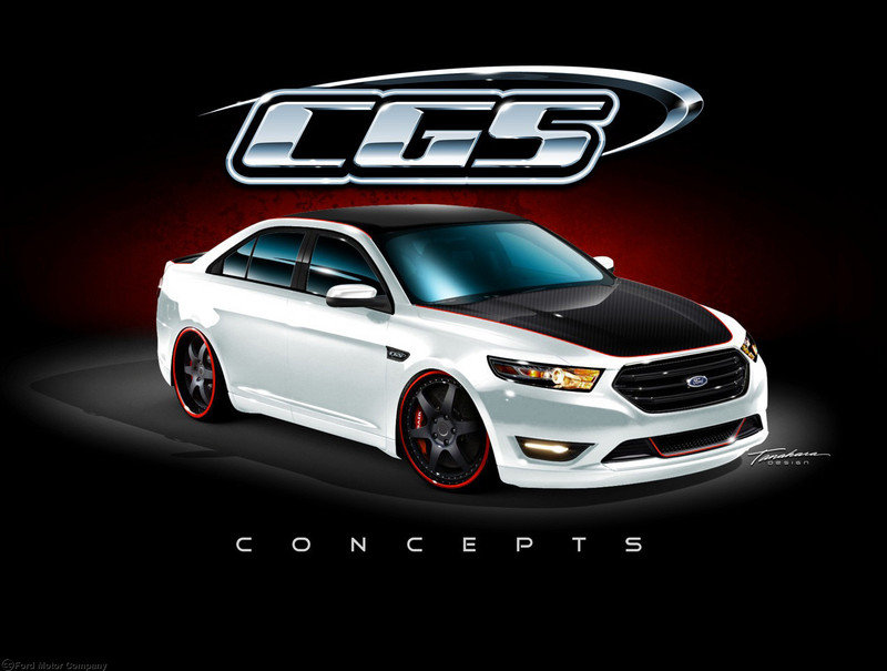 2013 Ford Taurus SHO by CGS Motorsports