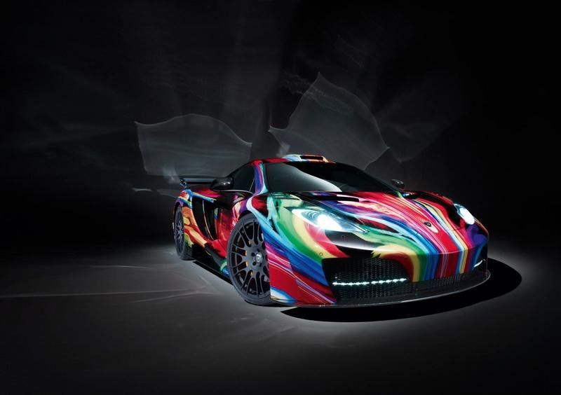 "2012 McLaren MP4-12C ""Art Car"" by Hamann"