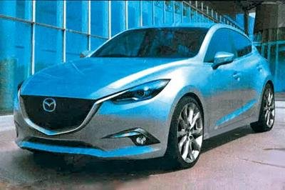 Digital Renderings of the 2014 Mazda3 Hit the 'Net