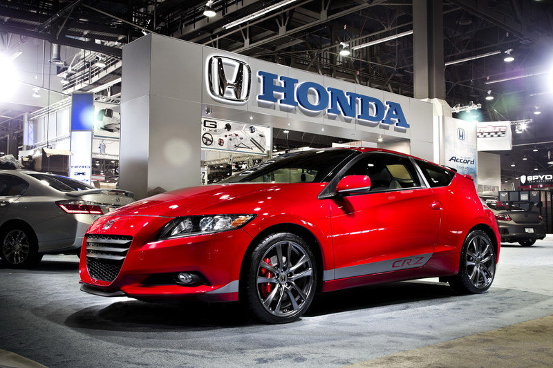 2012 Honda HPD Supercharged CR-Z Concept