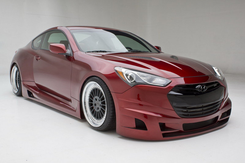 2013 Hyundai Genesis Coupe Turbo Concept by FuelCulture
