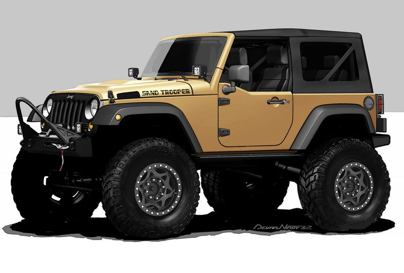 2012 Jeep Wrangler Sand Trooper