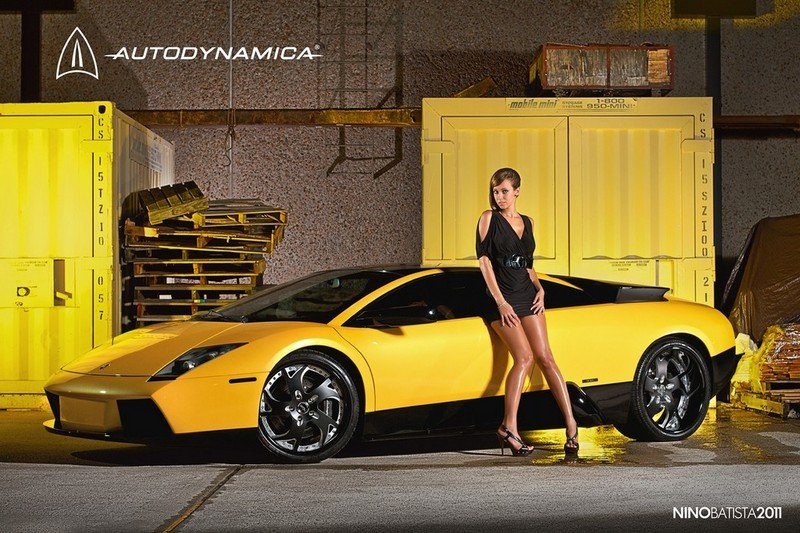 Lamborghini Murcielago with Kasie Wyland Models by Nino Batista Photography