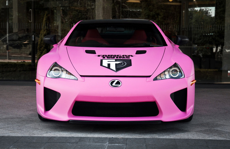 2012 Lexus LF-A National Breast Cancer Awareness Edition