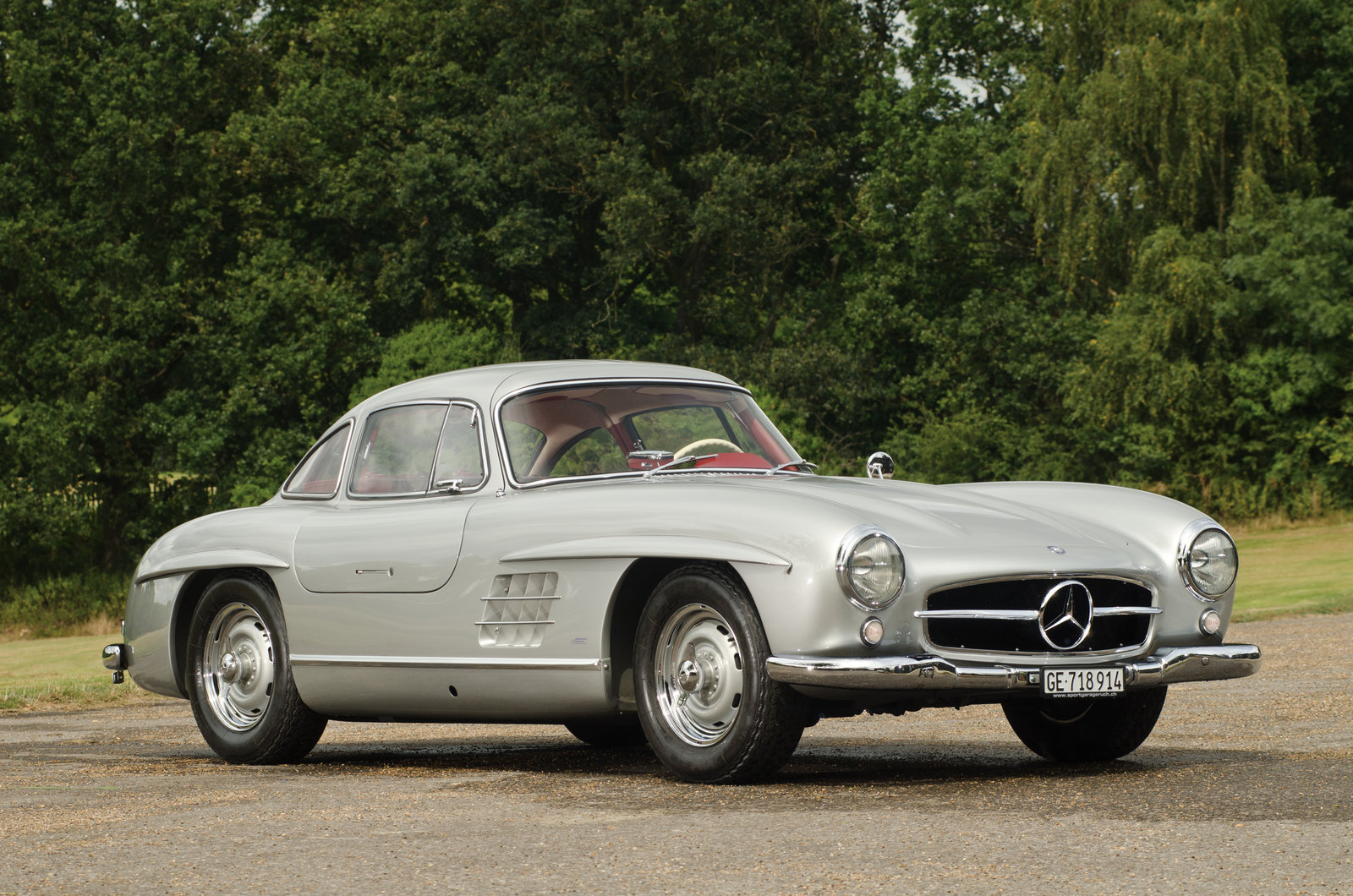 1955 Mercedes Benz 300sl Alloy Gullwing Review Top Speed