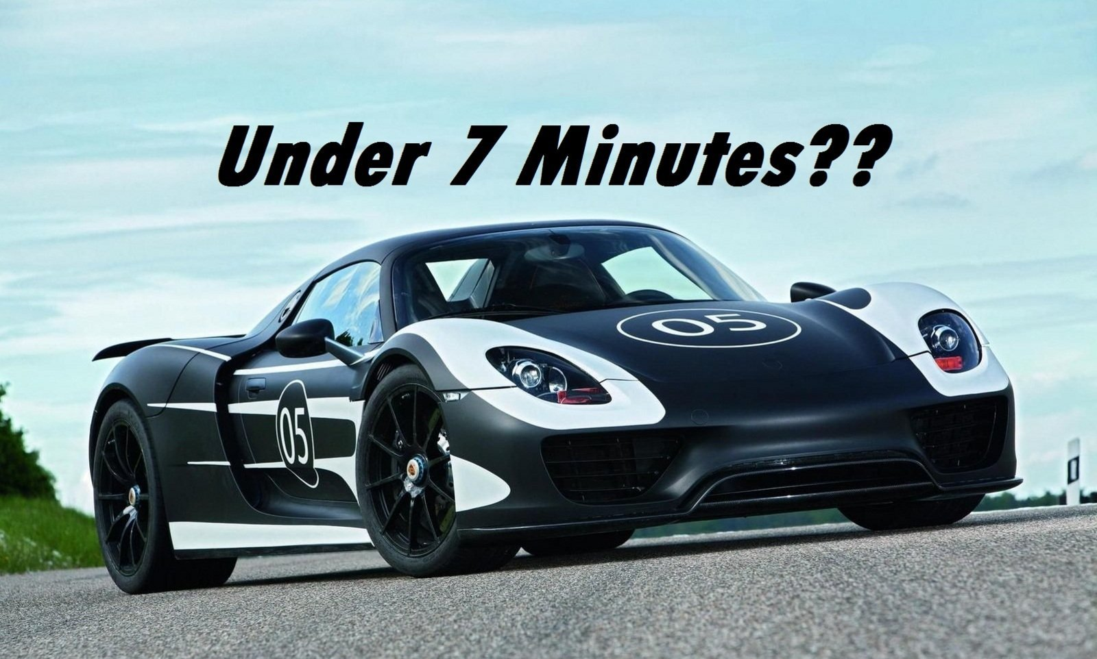 Porsche Shooting For Sub 7 Minute Time Around The