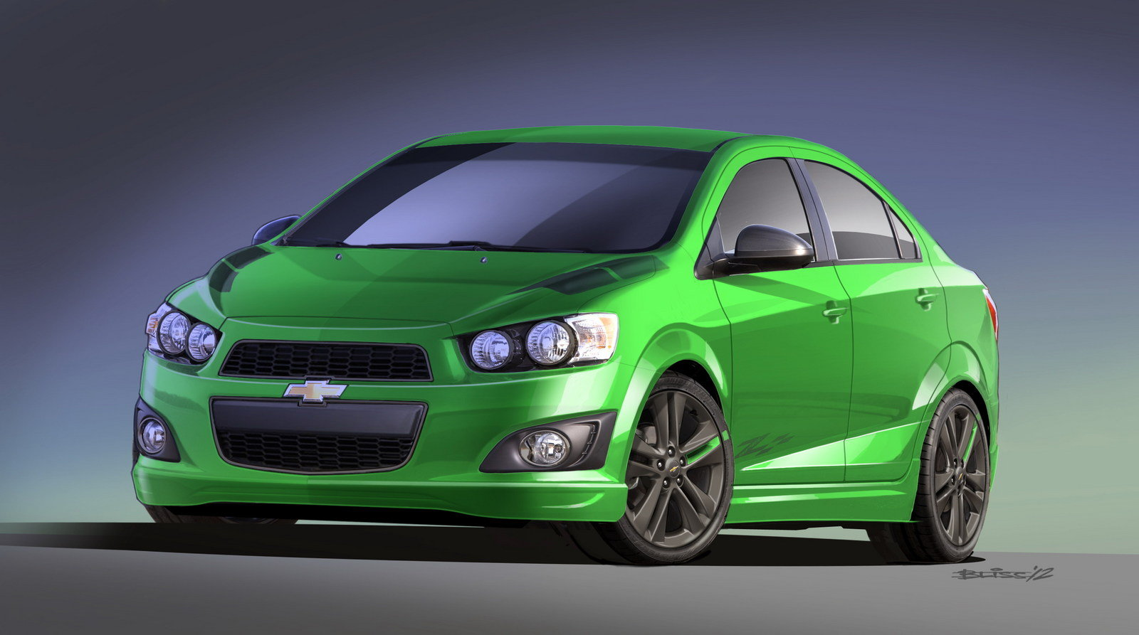 2012 Chevrolet Sonic Z-Spec 1 Concept Review - Top Speed