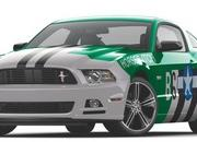 Ford Mustang Track Fighter by Pictographics
