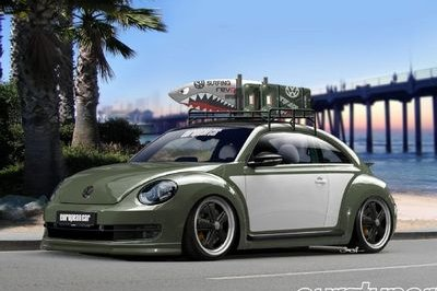 2013 Volkswagen Beetle Beach Battle-Cruiser by European Car Magazine Exterior - image 479647