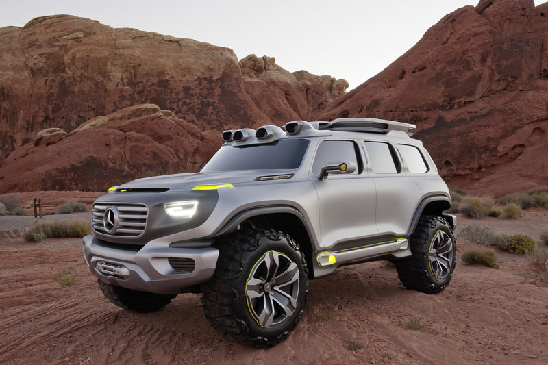 Mercedes Considers G-Class-Inspired Crossover for 2019