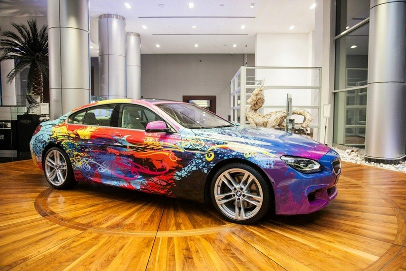 2013 BMW 650i Gran Coupe Art Car Exterior - image 482695