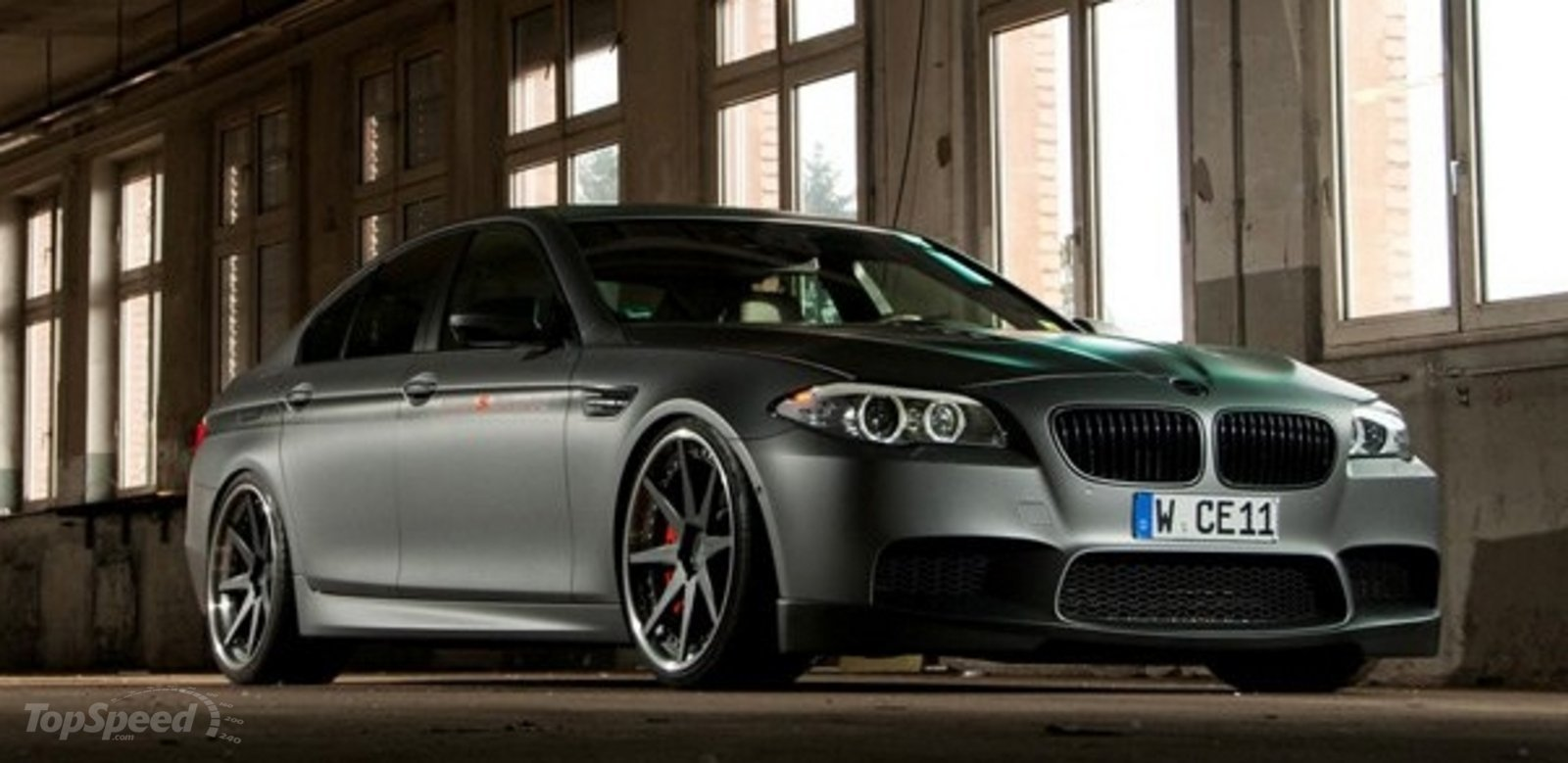 Matte Grey Car >> 2013 BMW M5 MH5 S Biturbo By Manhart Racing Review - Top Speed
