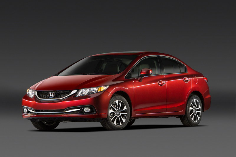 2013 Honda Civic Sedan High Resolution Exterior - image 484541