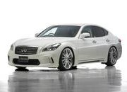 Infiniti M Black Bison by Wald International