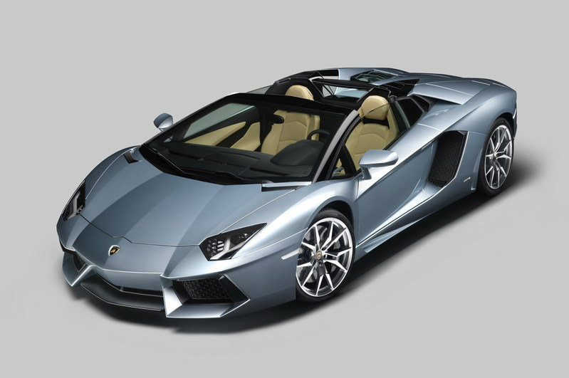 2013 Lamborghini Aventador LP700-4 Roadster High Resolution Exterior Wallpaper quality - image 481573