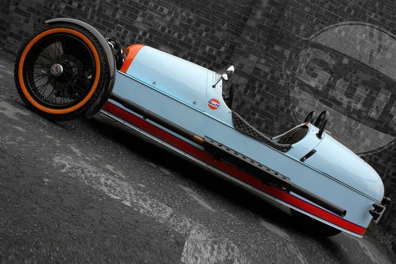 2013 Morgan Three-Wheeler Gulf Edition