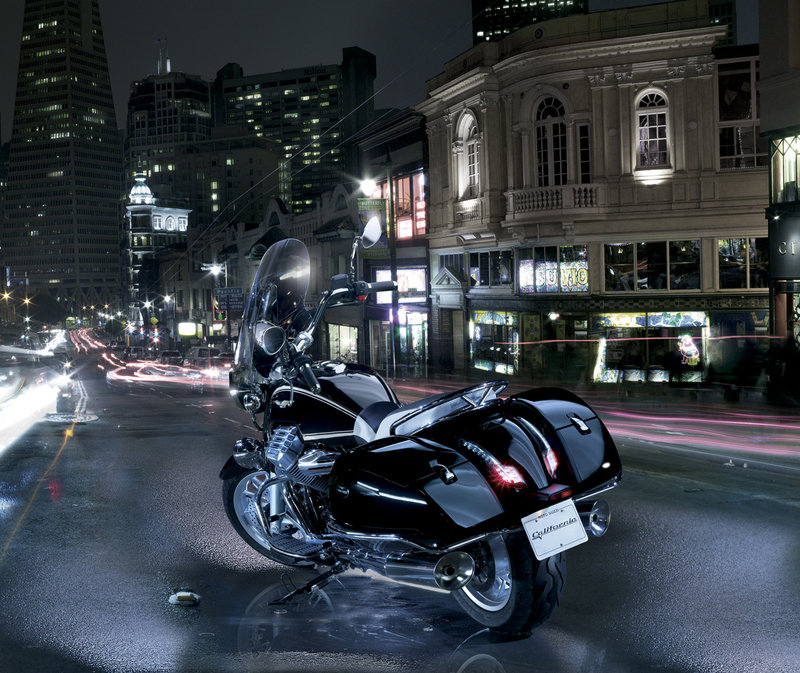 2013 Moto Guzzi California 1400 Touring and Custom