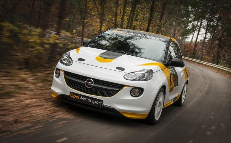 2013 Opel Adam Cup Rally Car