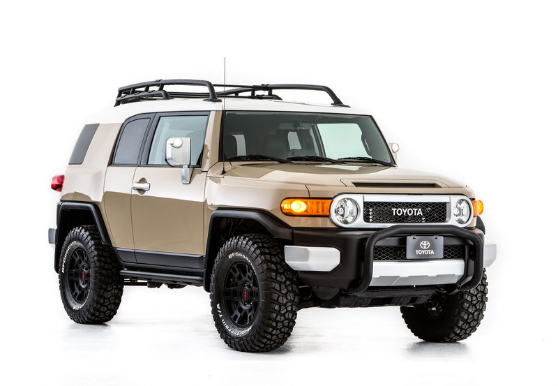 2013 Toyota FJ-S Cruiser Concept by TRD