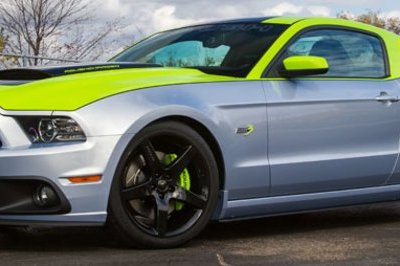 2014 Ford ROUSH Stage 3 Mustang GT by Roush, Ford Racing, and Sherwin-Williams Automotive Paints