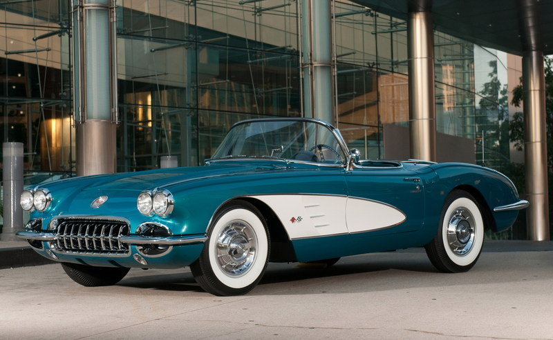 GM Releases Information on Akerson's '58 Corvette to be Auctioned for Charity