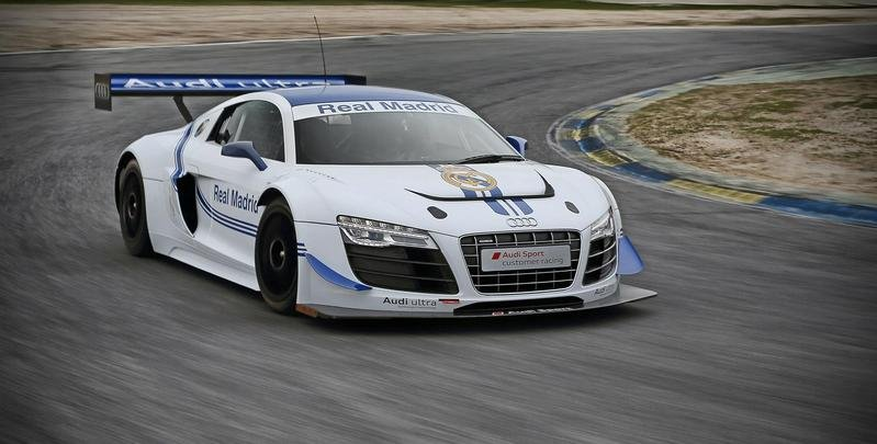 2013 Audi R8 LMS Real Madrid Edition
