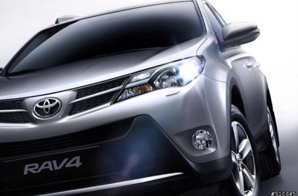 the next-gen rav4 images leak online before its debut picture