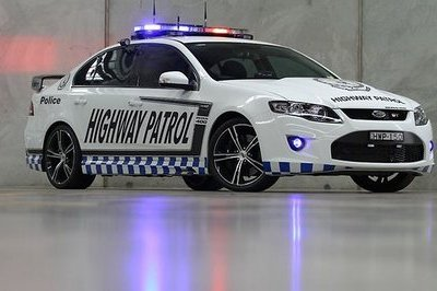 2013 Ford Falcon GT Police Car