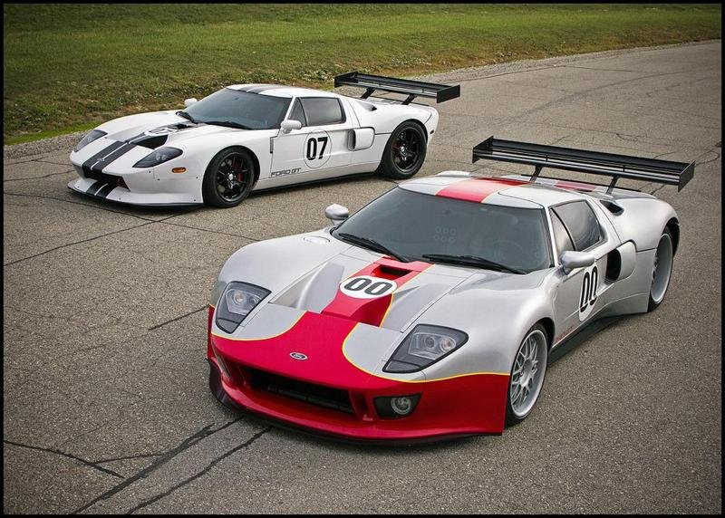 2012 Ford GT GT3-S and GT1-S by RH Motorsports
