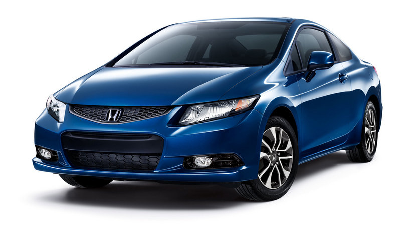 2013 Honda Civic Coupe High Resolution Exterior - image 484670