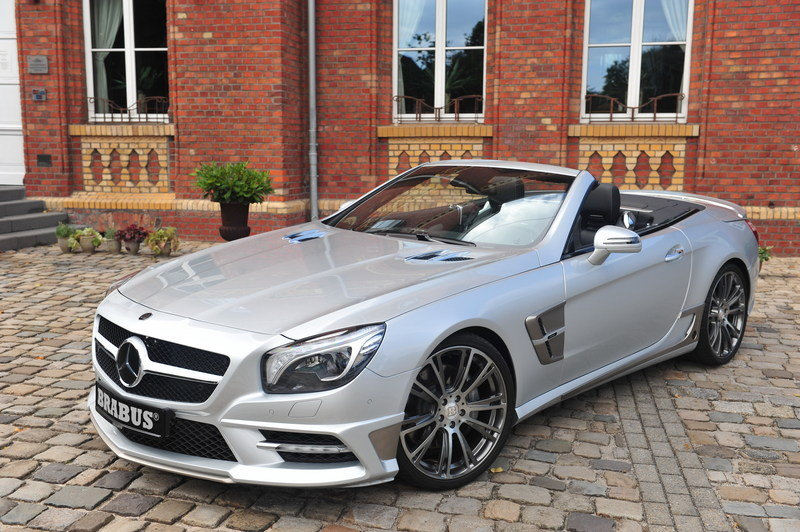 2013 Mercedes SL-Class by Brabus High Resolution Exterior - image 484769