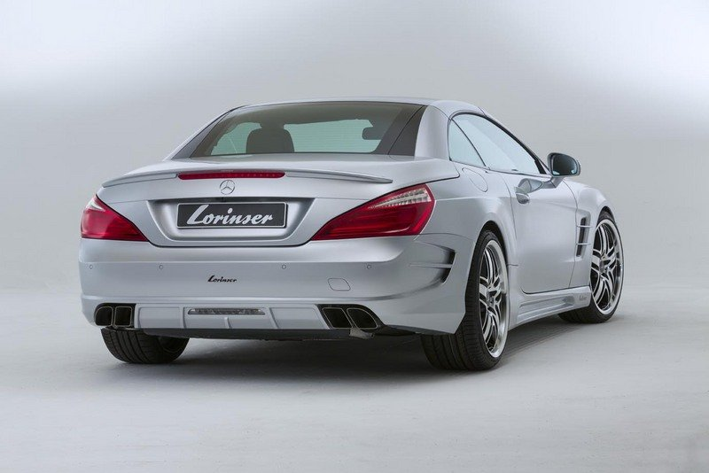 2012 Mercedes SL500 by Lorinser High Resolution Exterior - image 484745