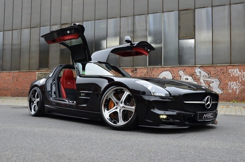 2012 Mercedes SLS AMG Black Series by MEC Design