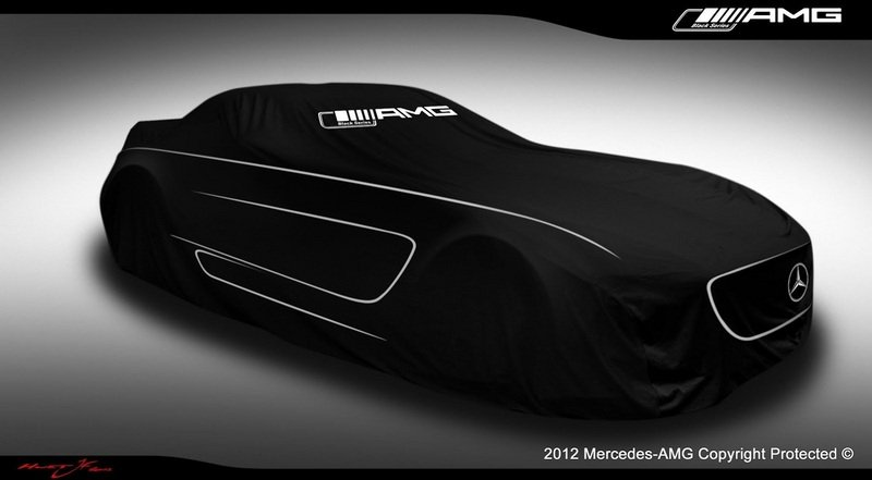 Mercedes SLS AMG Black Series to be unveiled in less than 24 hours