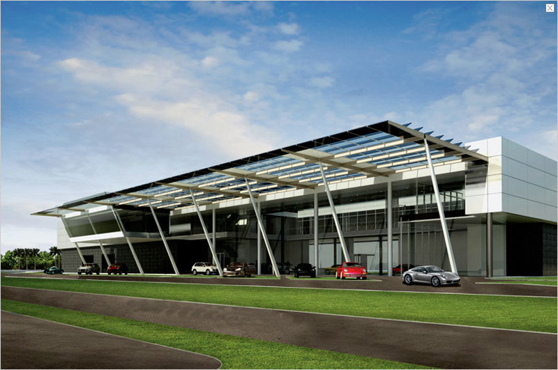 New US Porsche Experience Center opens in fall 2013
