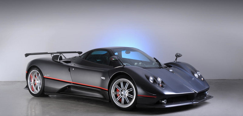 "One-off Pagani Zonda ""GJ"" Set to be Auctioned at Bonhams"