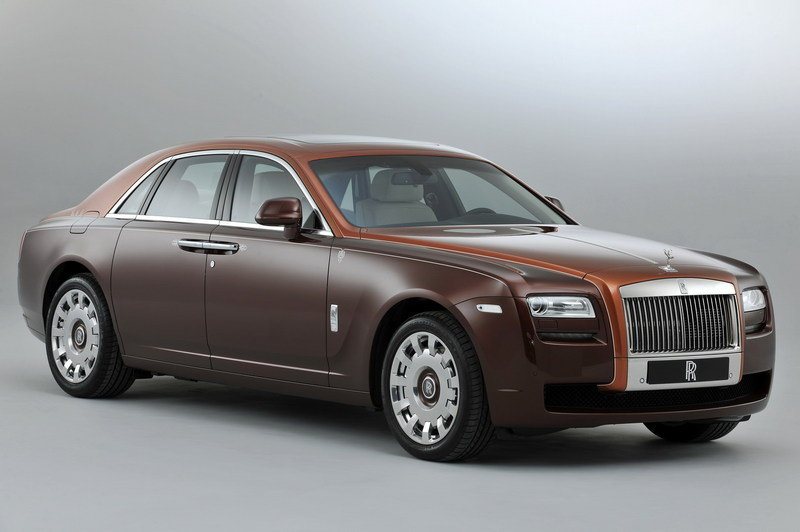2013 Rolls Royce Ghost One Thousand and One Nights Edition