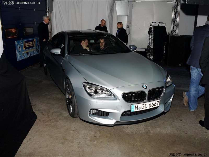 The Future BMW M6 GranCoupe Fully Exposed