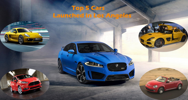Top 5 Launches at the Los Angeles Auto Show