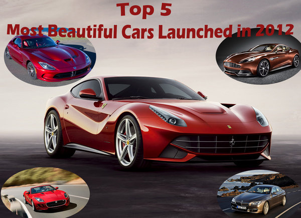 top 5 most beautiful cars launched in 2012 picture