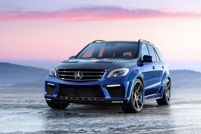 2013 Mercedes Benz Ml 63 Amg Inferno By Topcar Pictures Photos