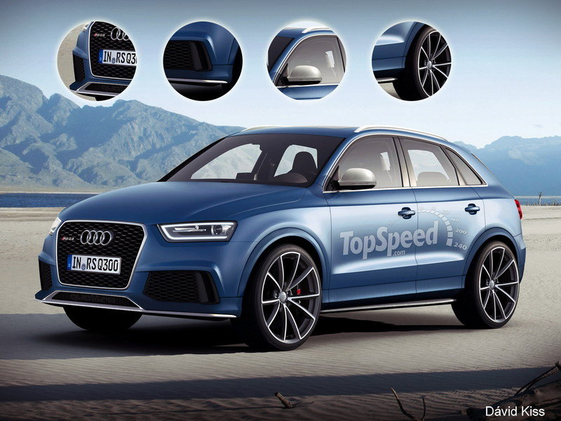 TopSpeed Rendering: 2014 Audi Q3 RS