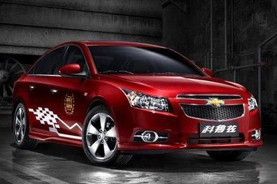 2013 Chevrolet Cruze WTCC China Edition