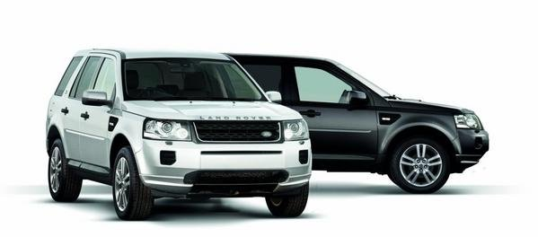 land rover freelander 2 black and white edition picture