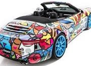 2013 Porsche 911 Cabriolet Art Car by Romero Britto - image 485713