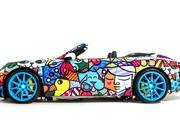 2013 Porsche 911 Cabriolet Art Car by Romero Britto - image 485715