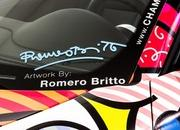 2013 Porsche 911 Cabriolet Art Car by Romero Britto - image 485716