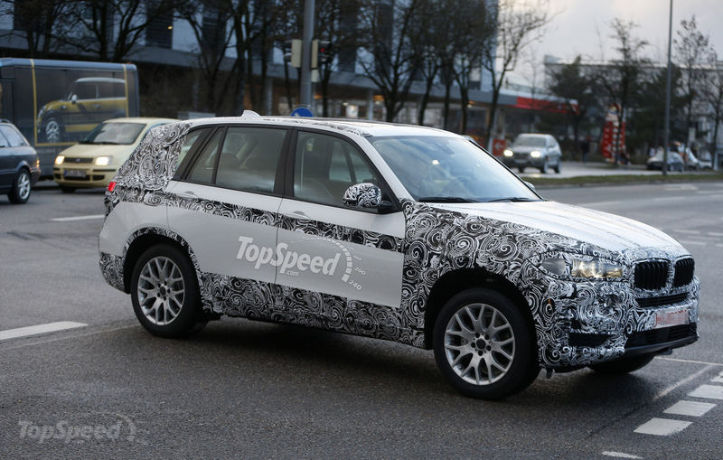 Spy shots: 2014 BMW X5 in less cammo than ever