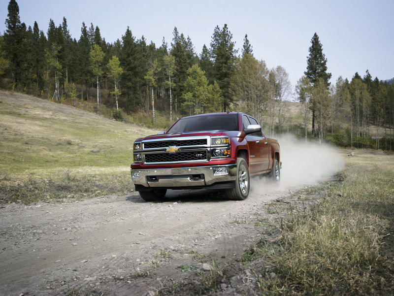 2014 Chevrolet Silverado High Resolution Exterior Wallpaper quality - image 486445