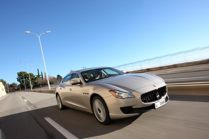 2014 - 2015 Maserati Quattroporte High Resolution Exterior Wallpaper quality - image 486022